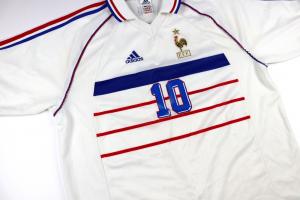 1998-00 Francia Maglia away Zidane #10 XL (Top)