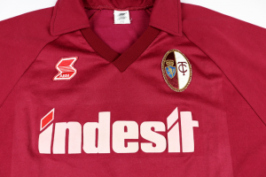 1990-91 Torino Maglia Home Match worn/issue #7 Lentini XL (Top)