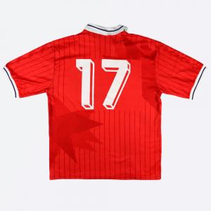 1991-92 Fiorentina Terza Maglia match worn #17 XL