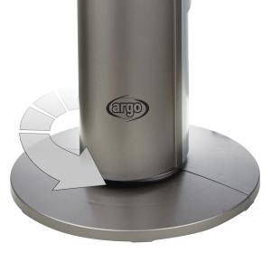 Argoclima Aspire Tower ventilatore Argento