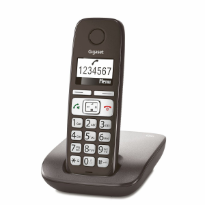 Gigaset E260 Telefono DECT Antracite Identificatore di chiamata
