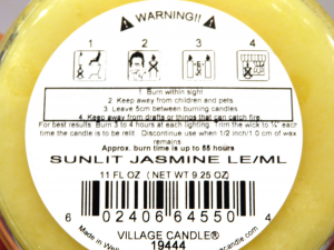 Candela Village Candle Fresh Lemon 50 ore
