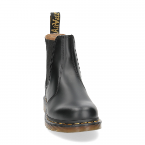 Dr. Martens Beatles Donna 2976 black smooth yellow stich-3