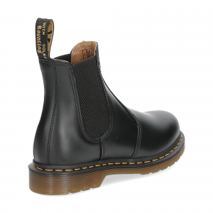Dr. Martens Beatles Donna 2976 black smooth yellow stich-5