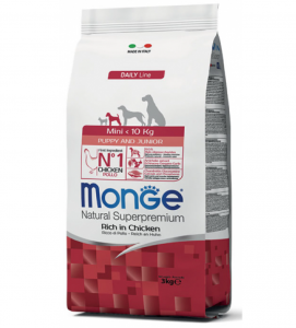 Monge - Natural Superpremium - Mini Puppy - Pollo - 3 kg