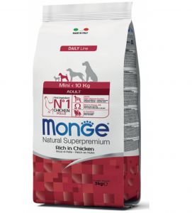 Monge - Natural Superpremium - Mini Adult - 3 kg
