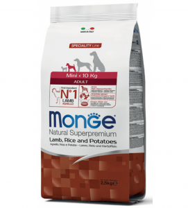 Monge - Natural Superpremium - Mini Adult - 2.5 kg
