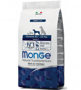 Monge - Natural Superpremium - Medium Adult - 3 kg