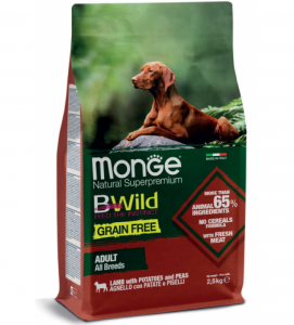 Monge - BWild Grain Free - All Breeds Adult 12 kg