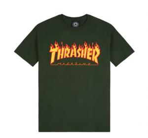 T-Shirt Thrasher Flame Tee ( More Colors )