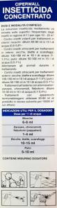 Ciperwall Insetticida Concentrato per Aree Verdi  250ML Deadyna