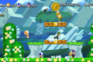 New Super Mario Bros U + New Super Luigi U - USATO - WiiU