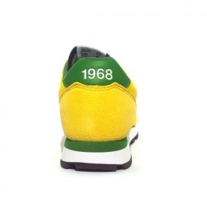 Sneaker gialla/verde SUN68
