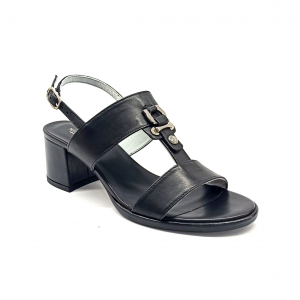 Sandalo nero Nero Giardini