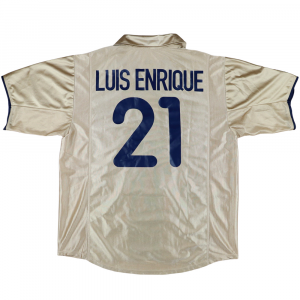 2001-03 Barcelona Maglia away #21 Luis Enrique XL (Top)