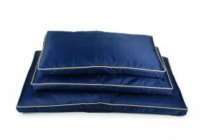 Cuscino sfoderabile per cani Luxury 60x90 cm rosso