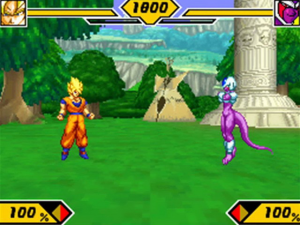Dragon Ball Z: Supersonic Warriors 2 - USATO - NintendoDS