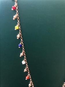 Collana in argento Rose Arvi
