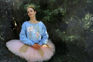 Felpa celeste Fata Confetto Sugar Plum Fairy -Ballet Papier