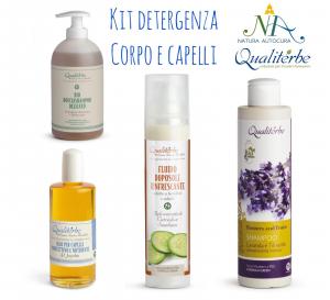 Kit Detergenza Corpo e Capelli -20% con codice: naturautocura