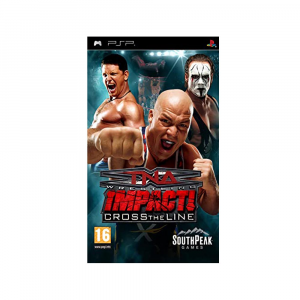 TNA iMPACT!: Cross The Line - USATO - PSP