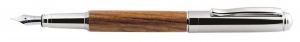 Penna stilografica in legno cm.14x1,2x1,2h