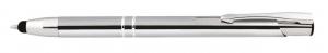 Penna alluminio con touch cm.14x1x1h