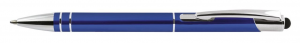 Penna alluminio blu cm.14x1x1h