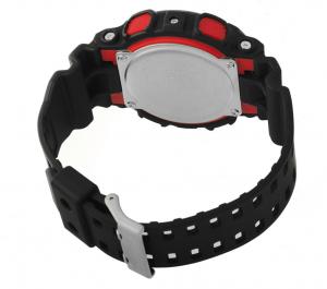 Casio G-Shock cronografo, nero particolari rossi