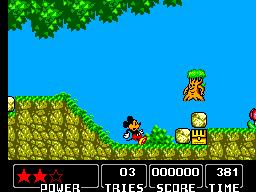 Castle of Illusion - USATO - GAME GEAR