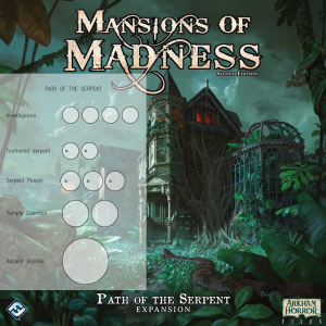 Mansions of Madness 2nd Ed. Path of the Serpent Clear Bases (x12)