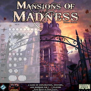 Mansions of Madness 2nd Ed. Base Set Clear Bases (x32)