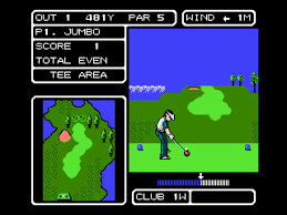 Fighting Golf - loose - USATO - NES