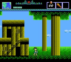 The Battle of Olympus - loose - USATO - NES