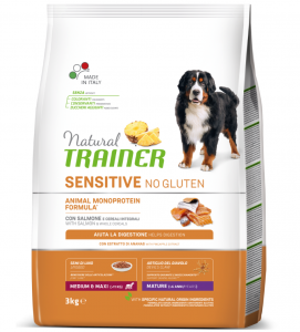 Trainer Natural Sensitive - Medium/Maxi - Mature - 3 kg