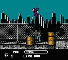 Wrath of the Black Manta - loose - USATO - NES