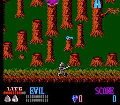 Wizards & Warriors - loose - USATO - NES