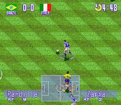 International Super Star Soccer: Deluxe - loose - USATO - SNES