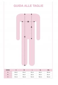 Tuta clinica intera a manica lunga in cotone invernale INTIMO 2D
