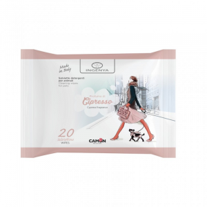 Salviette per cane e gatto Ingenya  4 fragranze disponibili Camon