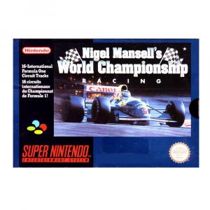 Nigel Mansell's World Championship Racing - USATO - SNES
