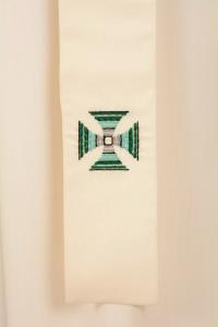 Casula C89T Bianca Sallia di Pura Lana