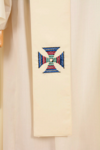 Casula C89T Bianca Mariana Sallia di Pura Lana