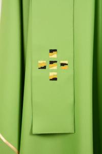 Casula C101T verde Sallia di Pura Lana-2