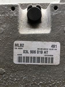 Centr. Iniez. usata Audi A4 2.0 TDI cod. 03L906019AT