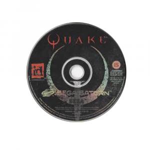 Quake - solo disco - SEGA SATURN