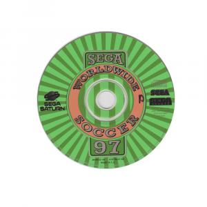 Sega Worldwide Soccer 97 - solo disco - SEGA SATURN