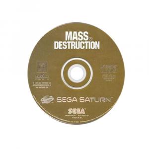 Mass Destruction - solo disco - SEGA SATURN