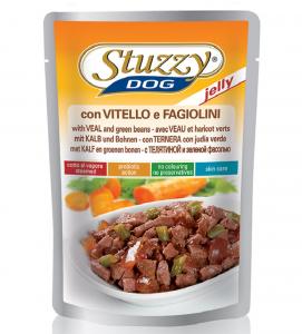Stuzzy Dog - Adult Jelly - 100g x 24 buste