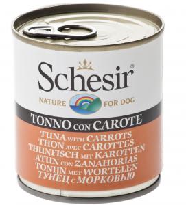 Schesir Dog - Gelatina - 285g x 6 lattine